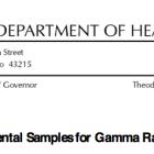 Ohio Department of Health Records 2014